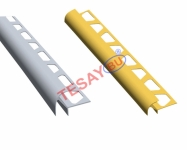 FÇKA10 - 10 mm Çift Yönlü Dış Köşe Fayans Çıtası