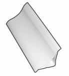 KUTK30 - 30X30 PVC Tek Parça Küvet Kenar Profilleri