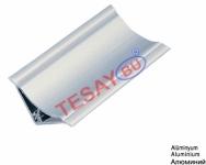 Tİ-13 / 30X30 Alüminyum İç Bükey Süpürgelik